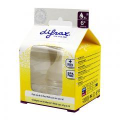 2盒装 | DIFRAX迪福宽口奶嘴XL码6m+ 2个装