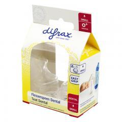 2盒装 | DIFRAX迪福标准奶嘴S码0m+ 2个装/盒