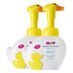 【2支裝】Hipp 婴儿小鸭子免敏泡泡洗手洗脸液250ml
