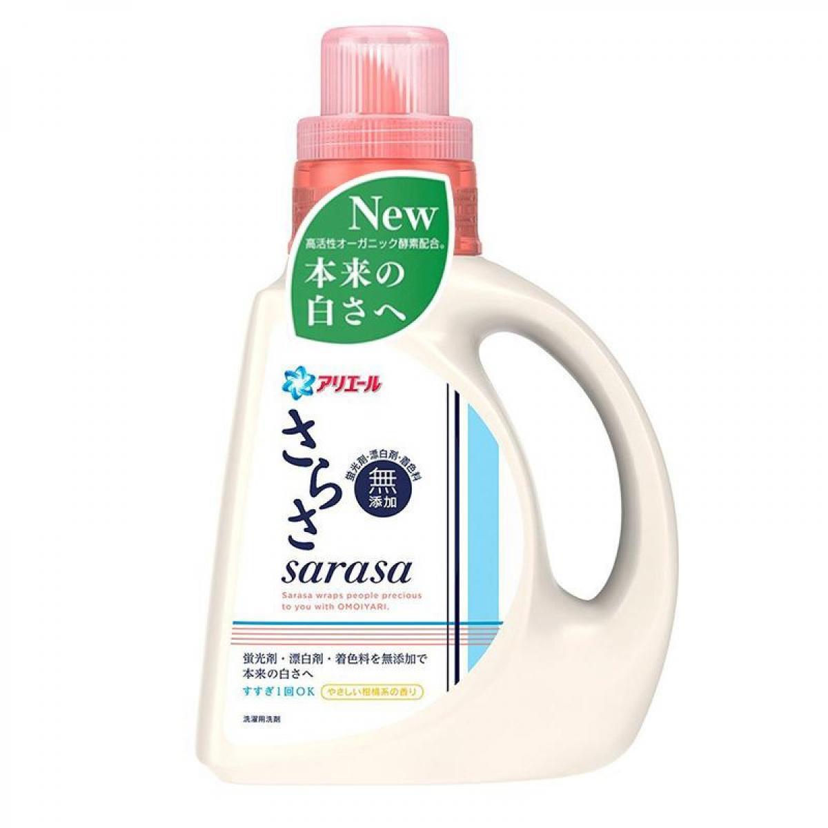 日本P&G Sarasa无添加 洗衣精 850g