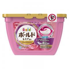 日本宝洁P&G  3D自然花香洗衣球-粉